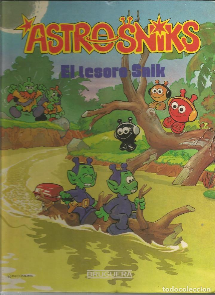 ASTROSNIKS EL TESORO SNIK Nº 4 EDITORIAL BRUGUERA (Tebeos y Comics - Bruguera - Otros)