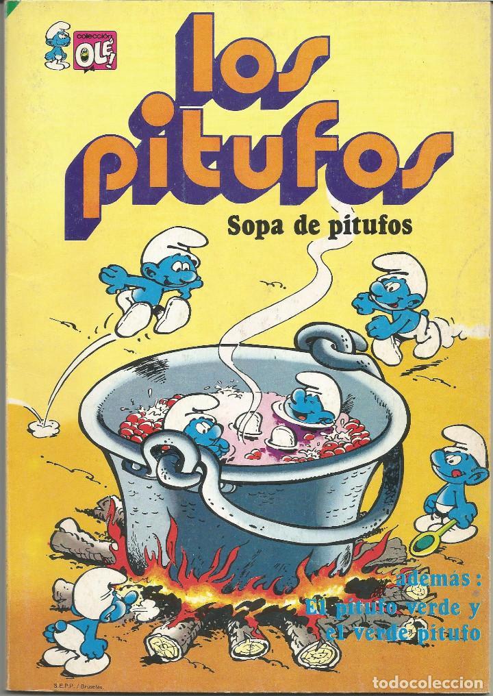 LOS PITUFOS SOPA DE PITUFOS Nº 10 OLÉ EDITORIAL BRUGUERA (Tebeos y Comics - Bruguera - Otros)