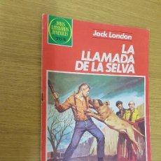 Tebeos: JOYAS LITERARIAS 246: LA LLAMADA DE LA SELVA, BRUGUERA. 1ª EDICION. Lote 114147023