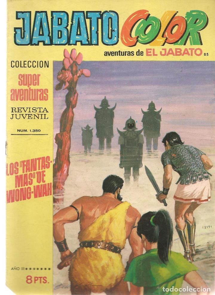 JABATO COLOR. Nº 85. LOS FANTASMAS DE WONG-WAH. 1ª ÉPOCA. BRUGUERA (ST/A2) (Tebeos y Comics - Bruguera - Jabato)