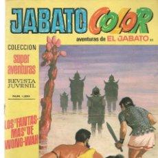 Tebeos: JABATO COLOR. Nº 85. LOS FANTASMAS DE WONG-WAH. 1ª ÉPOCA. BRUGUERA (ST/A2). Lote 114180763