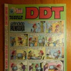 Tebeos: TEBEO - COMIC - DDT - AÑO XVII - ÉPOCA III - Nº 74 - 5 PTS - BRUGUERA -. Lote 114220627