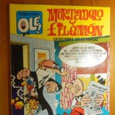 Tebeos: TEBEO - COMIC - COLECCIÓN OLÉ - MORTADELO Y FILEMÓN - CATÁSTROFES CATASTRÓFICAS - 1973. Lote 114237363