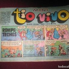 Tebeos: MINI TIOVIVO AÑO I Nº 3. BRUGUERA 1975.. Lote 114342627