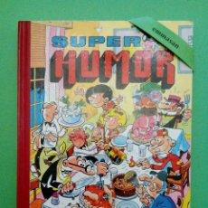 Tebeos: SUPER HUMOR - MORTADELO Y FILEMÓN, SACARINO, CARPANTA, ZIPI Y ZAPE, ROMPETECHOS, ETC. - VOLUMEN XXX.. Lote 114366923