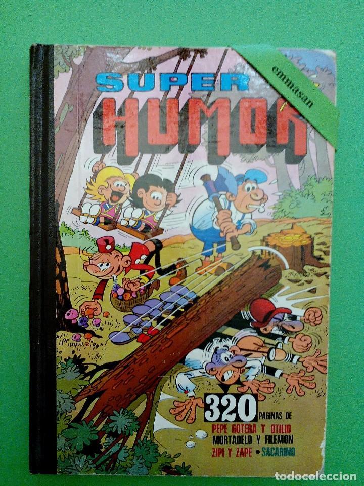 SUPER HUMOR - PEPE GOTERA Y OTILIO, MORTADELO Y FILEMÓN, ZIPI Y ZAPE Y SACARINO. - VOLUMEN X. (Tebeos y Comics - Bruguera - Super Humor)