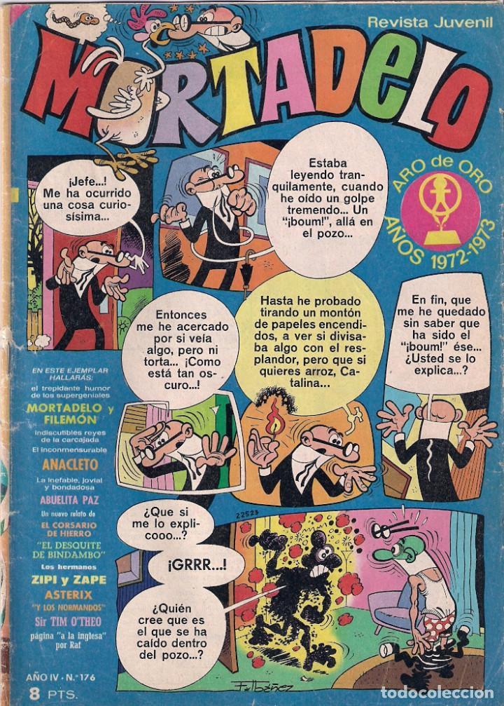 MORTADELO SEMANAL Nº 176 (Tebeos y Comics - Bruguera - Mortadelo)