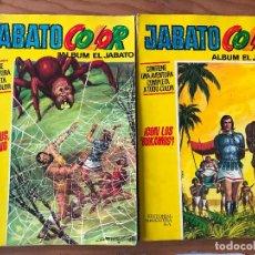 Tebeos: LOTE DE 2 JABATO COLOR ALBUM AMARILLO - Nº 38 Y 40 . Lote 114376059