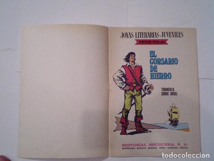 Tebeos: EL CORSARIO DE HIERRO - SERIE ROJA - 1ª EDICION - BRUGUERA - NUMERO 49 - BE - CJ 82 - GORBAUD - Foto 2 - 114608327