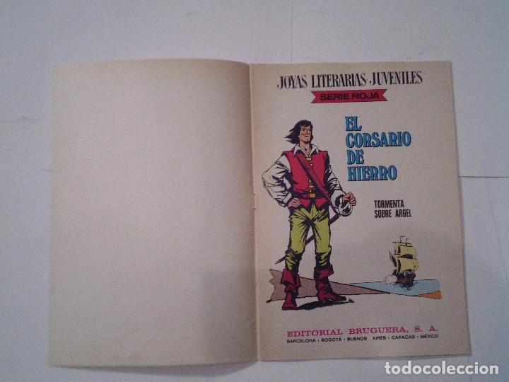 Tebeos: EL CORSARIO DE HIERRO - SERIE ROJA - 1ª EDICION - BRUGUERA - NUMERO 49 - BE - CJ 82 - GORBAUD - Foto 3 - 114608327
