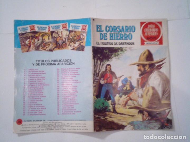 Tebeos: EL CORSARIO DE HIERRO - SERIE ROJA - 1ª EDICION - BRUGUERA - NUMERO 26- BE - CJ 82 - GORBAUD - Foto 5 - 114608963