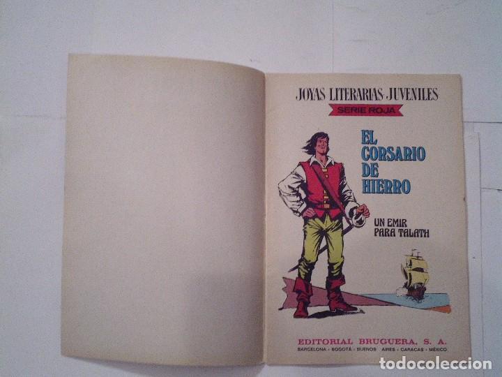 Tebeos: EL CORSARIO DE HIERRO - SERIE ROJA - 1ª EDICION - BRUGUERA - NUMERO 23 - BE - CJ 82 - GORBAUD - Foto 2 - 114609011