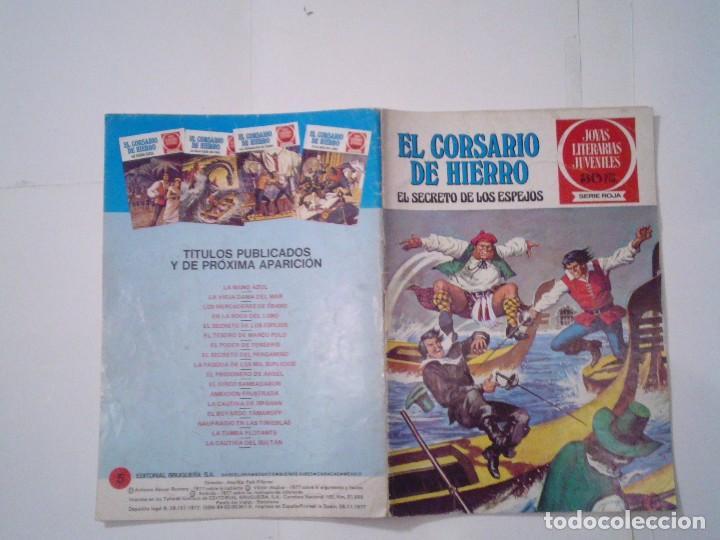 Tebeos: EL CORSARIO DE HIERRO - SERIE ROJA - 1ª EDICION - BRUGUERA - NUMERO 5 - BE - CJ 82 - GORBAUD - Foto 5 - 114610307