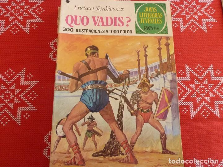 COMIC JOYAS LITERARIAS-Nº: 14 QUO VADIS? (Tebeos y Comics - Bruguera - Joyas Literarias)