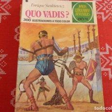 Tebeos: COMIC JOYAS LITERARIAS-Nº: 14 QUO VADIS?. Lote 114882995