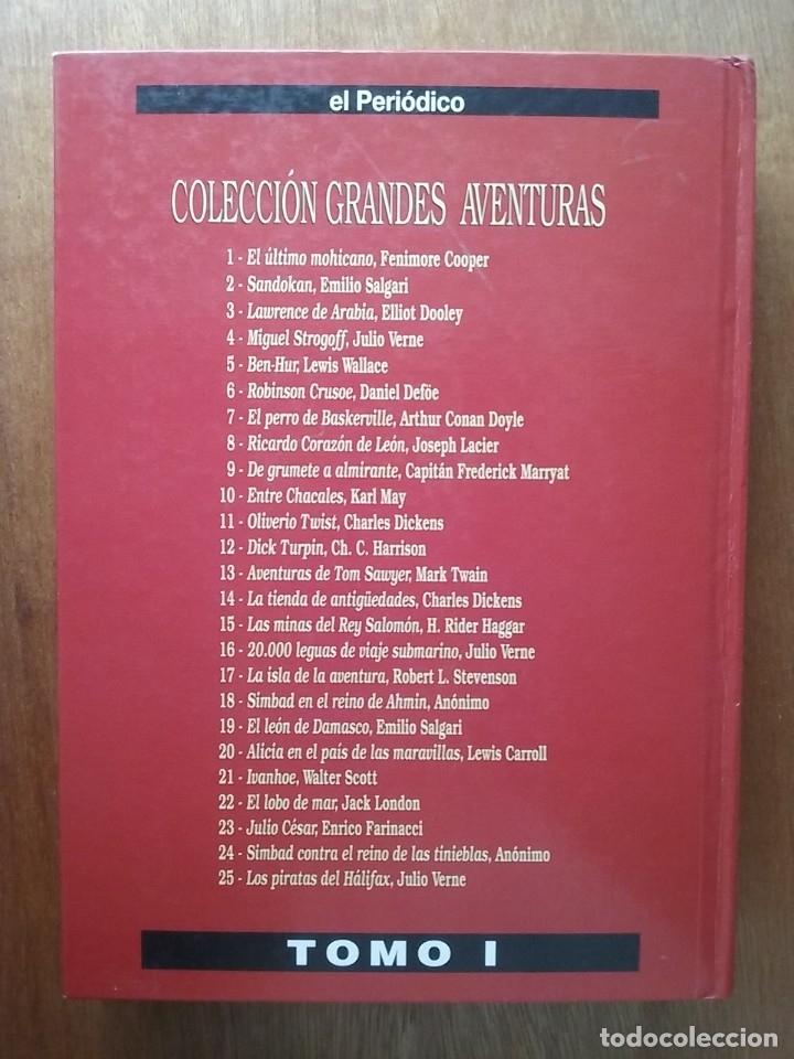 Tebeos: GRANDES AVENTURAS, CUATRO 4 TOMOS, EL PERIODICO, COMPLETO Y ENCUADERNADO, JOYAS LITERARIAS BRUGUERA - Foto 10 - 222384425