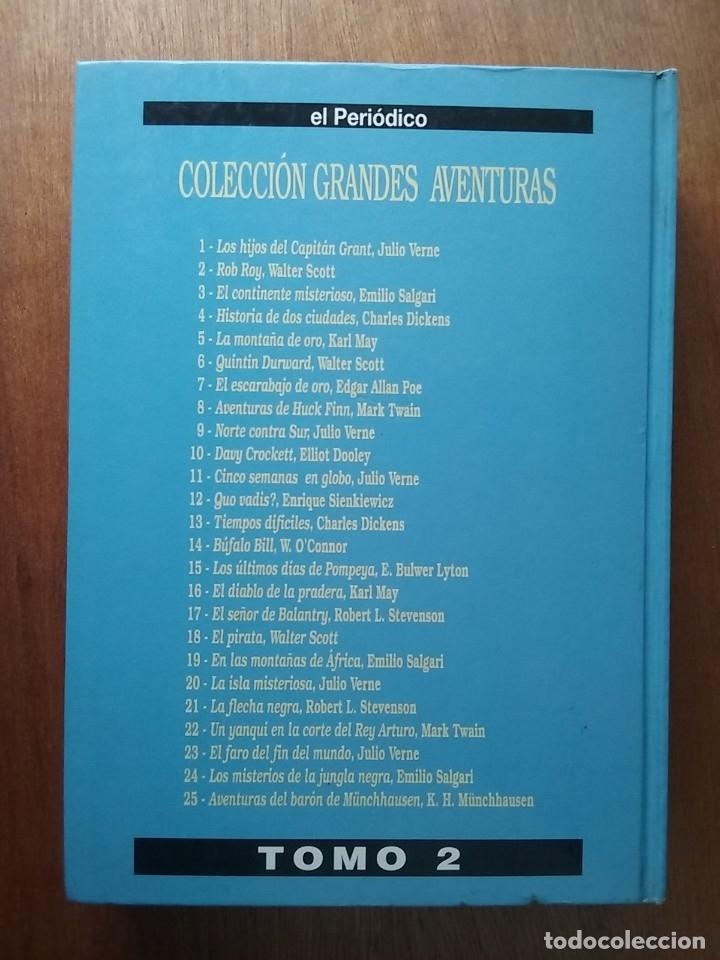 Tebeos: GRANDES AVENTURAS, CUATRO 4 TOMOS, EL PERIODICO, COMPLETO Y ENCUADERNADO, JOYAS LITERARIAS BRUGUERA - Foto 8 - 222384425