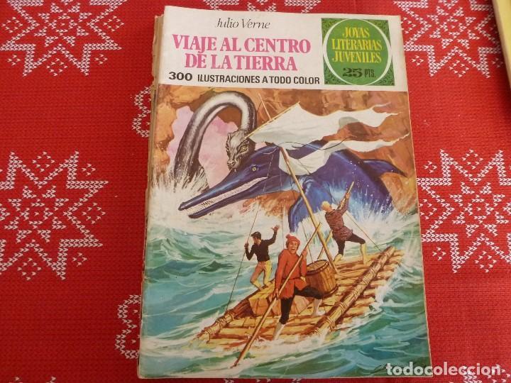 COMIC JOYAS LITERARIAS-Nº: 21 VIAJE AL CENTRO DE LA TIERRA (Tebeos y Comics - Bruguera - Joyas Literarias)