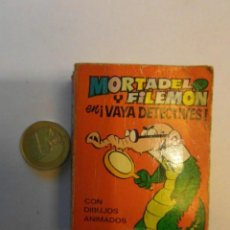 Tebeos: MORTADELO Y FILEMON EN ¡VAYA DETECTIVES!. MINI INFANCIA Nº 6. EDITORIAL BRUGUERA. Lote 114967119