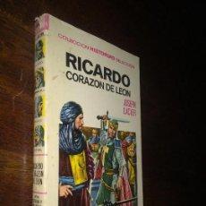 Tebeos: RICARDO CORAZÓN DE LEÓN - COLECCION HISTORIAS SELECCION - BRUGUERA ZPW - VICENTE ROSO -JOSEPH LACIER. Lote 115066763