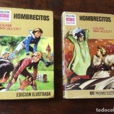 Tebeos: HOMBRECITOS - COLECCION HISTORIAS SELECCION - LOTE DE DOS - BRUGUERA - ZPW - 1974 Y 1978. Lote 115068127