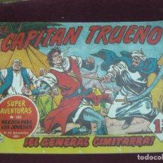 Tebeos: EL CAPITAN TRUENO ORIGINAL Nº 124. SUPER AVENTURAS Nº 120. BRUGUERA.. Lote 115083371