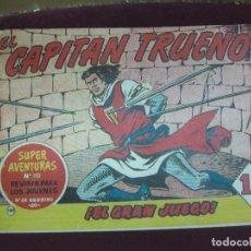 Tebeos: EL CAPITAN TRUENO ORIGINAL Nº 120 SUPER AVENTURAS Nº 110. BRUGUERA.. Lote 115083551