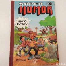 Tebeos: SUPER HUMOR, (BENITO BONIATO), Nº 2, 1ª EDICIÓN, 1985. Lote 115092543