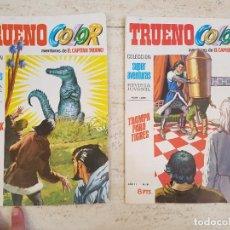 Tebeos: LOTE COMIC TEBEO EL CAPITAN TRUENO BRUGUERA COLOR COLECCION SUPER AVENTURAS AÑO II 78,81. Lote 115249255