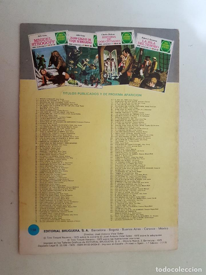 Tebeos: Joyas Literarias Juveniles nº 138. Primera Edición. 1975. - Foto 2 - 115313987