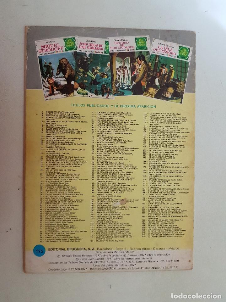 Tebeos: Joyas Literarias Juveniles nº 175. Primera Edición. 1977. - Foto 2 - 115314431