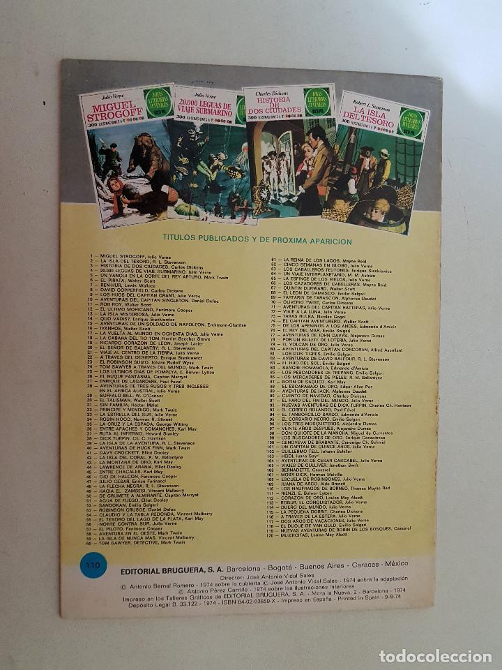 Tebeos: Joyas Literarias Juveniles nº 110. Primera Edición. 1974. - Foto 2 - 115314627