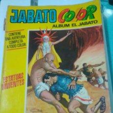 Tebeos: JABATO COLOR,ESTATUAS VIVIENTES ,BRUGUERAS. Lote 115323782