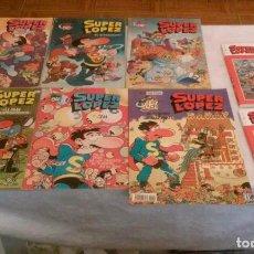 Tebeos: SUPERLOPEZ LOTE 8 COMICS (BRUGUERA, EDICIONES B,EL MUNDO). Lote 115370727