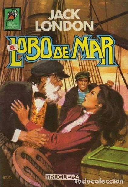 NUEVAS JOYAS LITERARIAS - Nº 2 -EL LOBO DE MAR-1985-GRAN LUIS BERMEJO- MUY DIFÍCIL-BUENO-LEAN-8209 (Tebeos y Comics - Bruguera - Joyas Literarias)