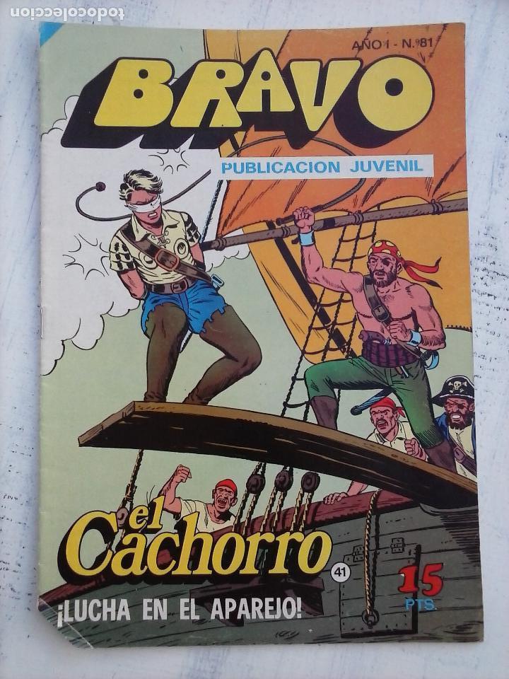 Tebeos: BRAVO EL CACHORRO LOTE 19 NºS - 3,4,8,9,11,12,14,15,16,17,18,20,21,22,24,26,29,37,41 ÚLTIMO - Foto 4 - 115515635