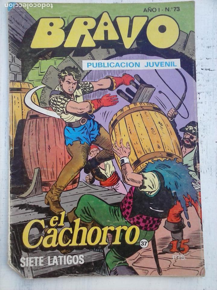 Tebeos: BRAVO EL CACHORRO LOTE 19 NºS - 3,4,8,9,11,12,14,15,16,17,18,20,21,22,24,26,29,37,41 ÚLTIMO - Foto 6 - 115515635