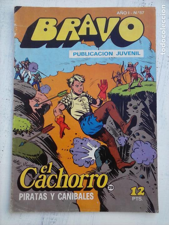 Tebeos: BRAVO EL CACHORRO LOTE 19 NºS - 3,4,8,9,11,12,14,15,16,17,18,20,21,22,24,26,29,37,41 ÚLTIMO - Foto 8 - 115515635