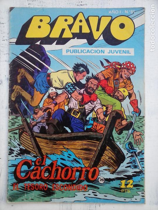 Tebeos: BRAVO EL CACHORRO LOTE 19 NºS - 3,4,8,9,11,12,14,15,16,17,18,20,21,22,24,26,29,37,41 ÚLTIMO - Foto 10 - 115515635