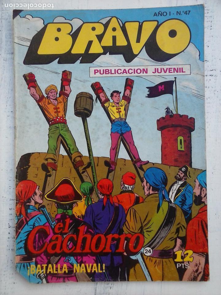 Tebeos: BRAVO EL CACHORRO LOTE 19 NºS - 3,4,8,9,11,12,14,15,16,17,18,20,21,22,24,26,29,37,41 ÚLTIMO - Foto 12 - 115515635