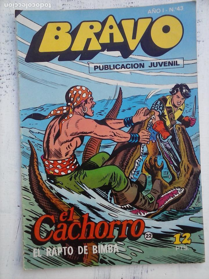 Tebeos: BRAVO EL CACHORRO LOTE 19 NºS - 3,4,8,9,11,12,14,15,16,17,18,20,21,22,24,26,29,37,41 ÚLTIMO - Foto 13 - 115515635