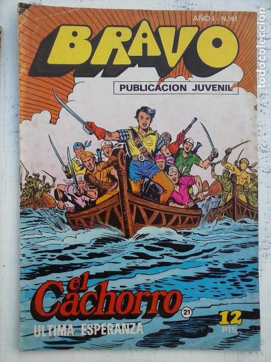 Tebeos: BRAVO EL CACHORRO LOTE 19 NºS - 3,4,8,9,11,12,14,15,16,17,18,20,21,22,24,26,29,37,41 ÚLTIMO - Foto 15 - 115515635