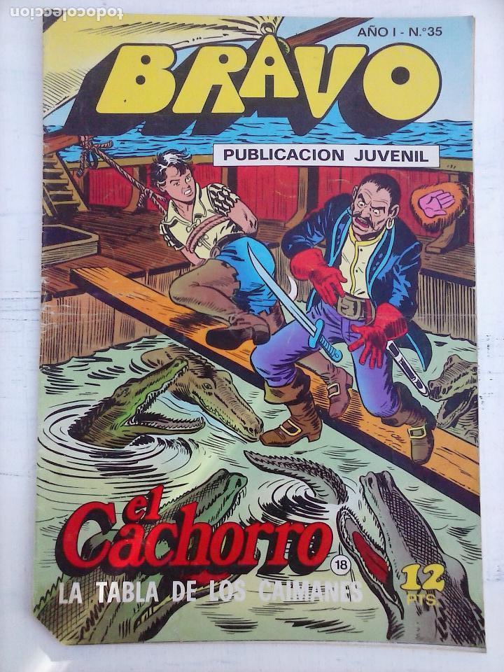 Tebeos: BRAVO EL CACHORRO LOTE 19 NºS - 3,4,8,9,11,12,14,15,16,17,18,20,21,22,24,26,29,37,41 ÚLTIMO - Foto 17 - 115515635