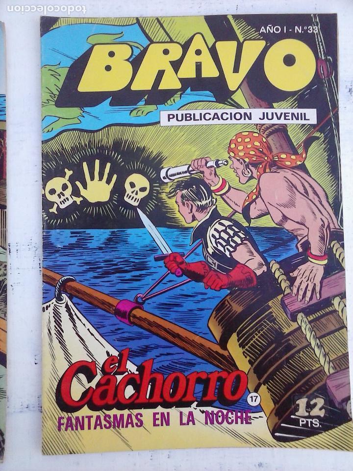 Tebeos: BRAVO EL CACHORRO LOTE 19 NºS - 3,4,8,9,11,12,14,15,16,17,18,20,21,22,24,26,29,37,41 ÚLTIMO - Foto 18 - 115515635