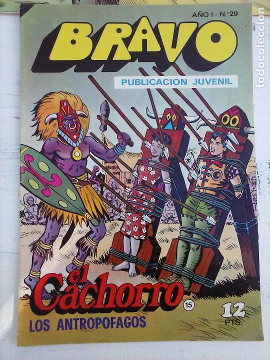 Tebeos: BRAVO EL CACHORRO LOTE 19 NºS - 3,4,8,9,11,12,14,15,16,17,18,20,21,22,24,26,29,37,41 ÚLTIMO - Foto 19 - 115515635