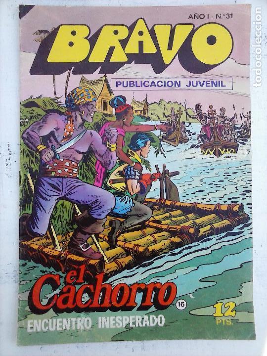 Tebeos: BRAVO EL CACHORRO LOTE 19 NºS - 3,4,8,9,11,12,14,15,16,17,18,20,21,22,24,26,29,37,41 ÚLTIMO - Foto 20 - 115515635