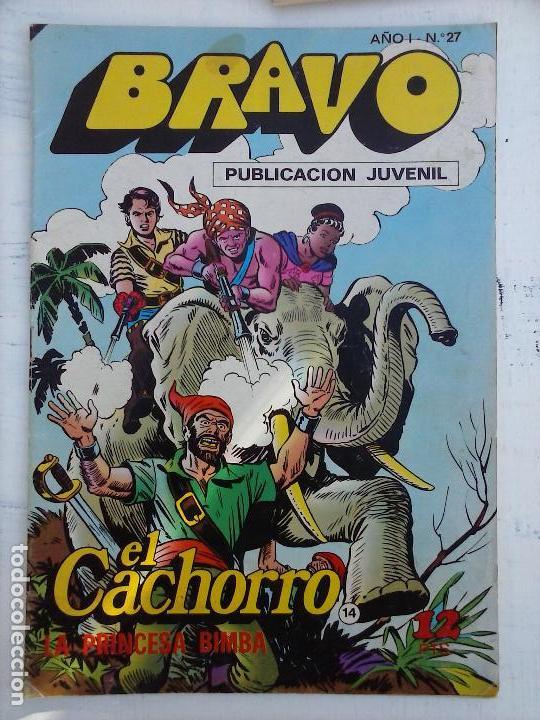Tebeos: BRAVO EL CACHORRO LOTE 19 NºS - 3,4,8,9,11,12,14,15,16,17,18,20,21,22,24,26,29,37,41 ÚLTIMO - Foto 21 - 115515635