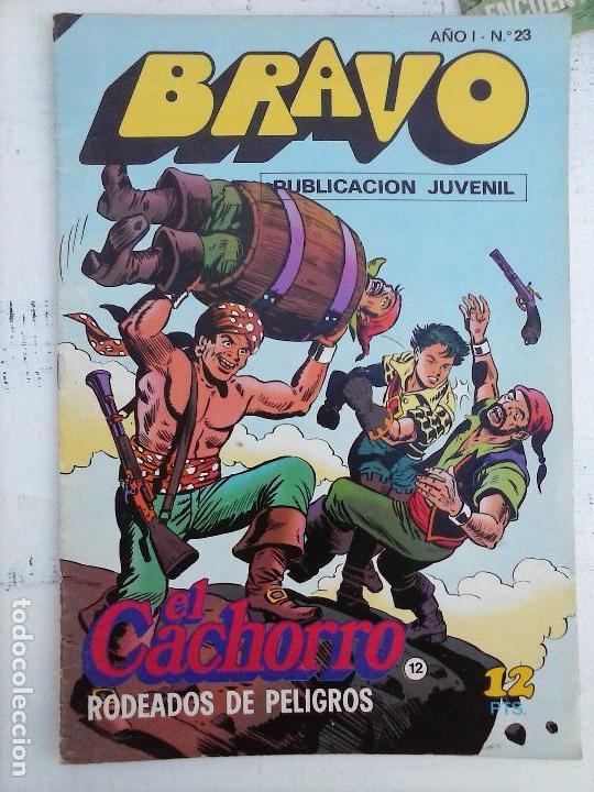 Tebeos: BRAVO EL CACHORRO LOTE 19 NºS - 3,4,8,9,11,12,14,15,16,17,18,20,21,22,24,26,29,37,41 ÚLTIMO - Foto 22 - 115515635
