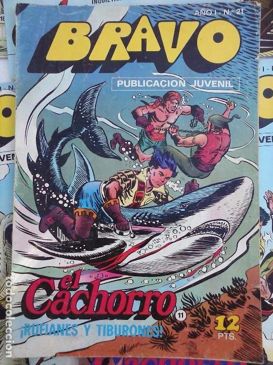 Tebeos: BRAVO EL CACHORRO LOTE 19 NºS - 3,4,8,9,11,12,14,15,16,17,18,20,21,22,24,26,29,37,41 ÚLTIMO - Foto 23 - 115515635