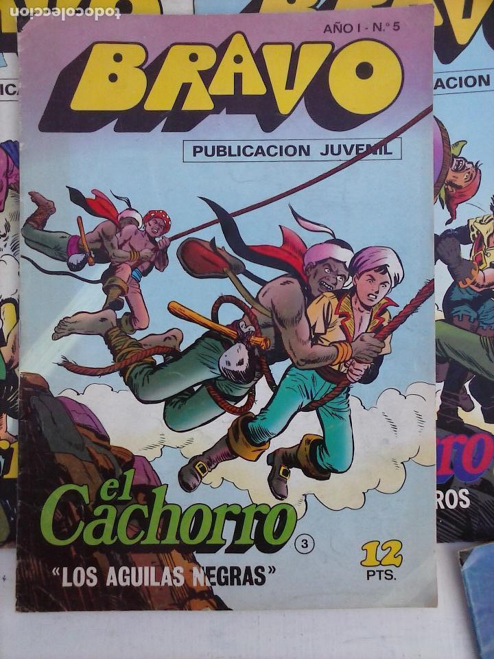 Tebeos: BRAVO EL CACHORRO LOTE 19 NºS - 3,4,8,9,11,12,14,15,16,17,18,20,21,22,24,26,29,37,41 ÚLTIMO - Foto 25 - 115515635